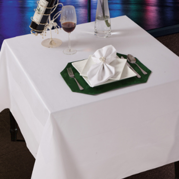 Cotton Satin Band Table Covers