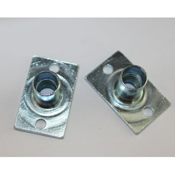 Carbon steel zinc plated welded nuts