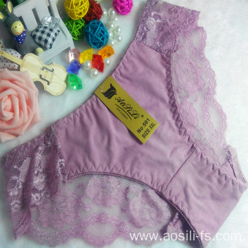 OEM wholesale sexy girls preteen underwear China cotton panty fancy underwear 501