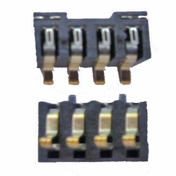 2.5mm Pitch 4P Battery SMT Connector