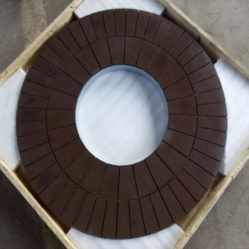 Vitified or resin bond CBN grinding wheel
