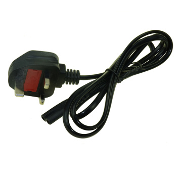 High quality UK Power Cord with fuse