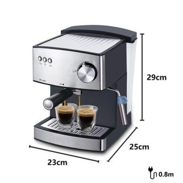 Stainless steel coffee machine automatic espresso