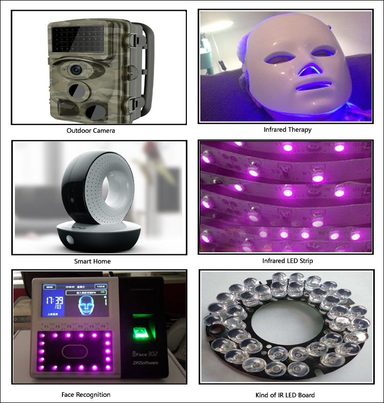 infrared LED LAMP