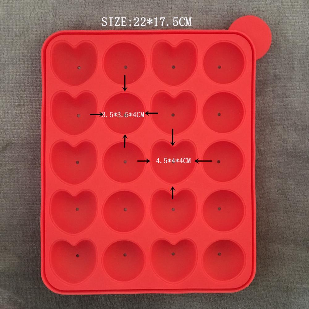 Heart-shaped Silicone Ice Box
