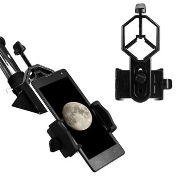 Universal Cell Phone Adapter Mount Monocular Microscope Accessories Adapter Telescope Mobile Phone Clip Accessory Bracket