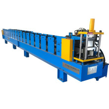 Gutter making machine with high speed