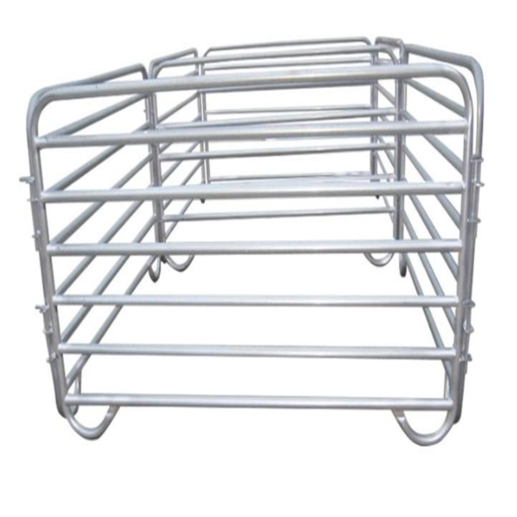 Galvanized Portable Horse Corral Pen Yard Gate Panel