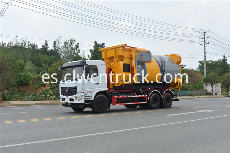 detachable compactor truck