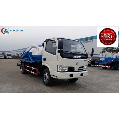 Brand New Cheap Dongfeng 3000litres liquid waste trucks