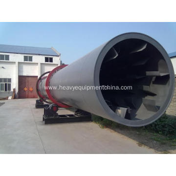 Industrial Size Rotary Dryer Equipment For Silica Sand
