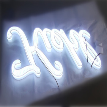 LED Illuminated Acrylic Channel Letters