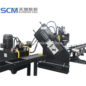 Channel Steel Punching Marking and Cutting Line