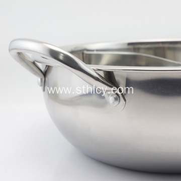 Wholesale Stainless Steel Two-Taste Hotpot