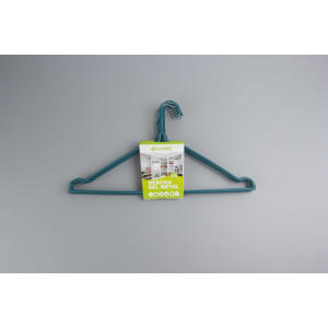 Green Metal Wire Hanger