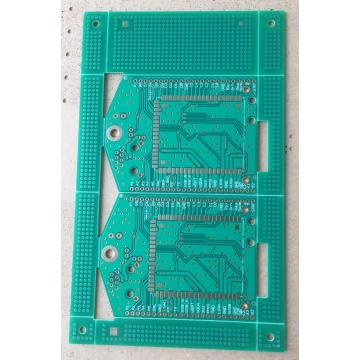 2 strato 1,6 mm cù Green PCB Solder