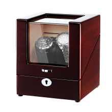 classic wooden one rotor watch winder box