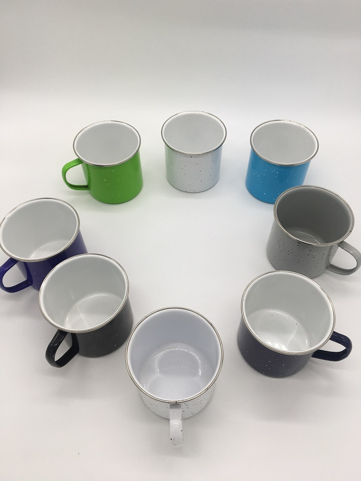 Enamel Mugs Breakable