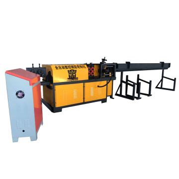 Steel bar hook bending machine