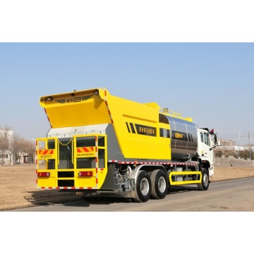 Road aggregates seal chip sealer