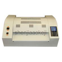 Professional Pouch laminator plastic sealing machine Plastic Photo Laminating machine 8 glue roller Laminator 330mm 1pc