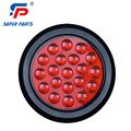 4 Inch 12V/24V Waterproof Round Tail Light