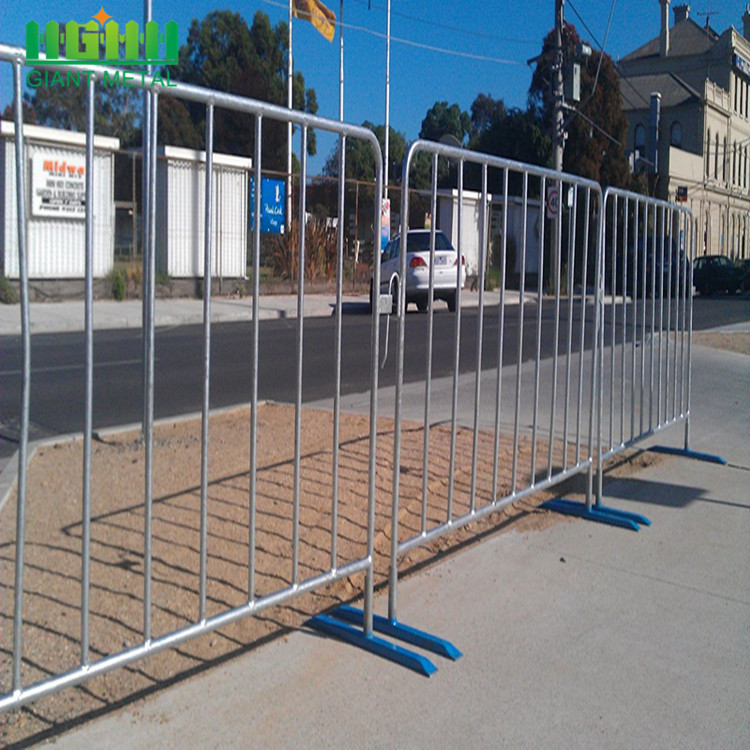 Cheap Construction Temporary Fence Crowd Control Barriers