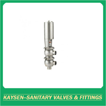 Sanitary mixing proof valves
