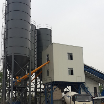 120m3/h mini mix precast concrete batching plant