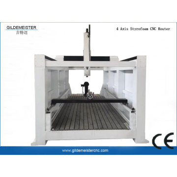 4 Axis Styrofoam CNC Router Machine