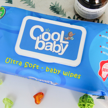 OEM Big Package Non-woven Baby Wipes
