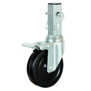 5 inch industrial scaffolding caster with double brake