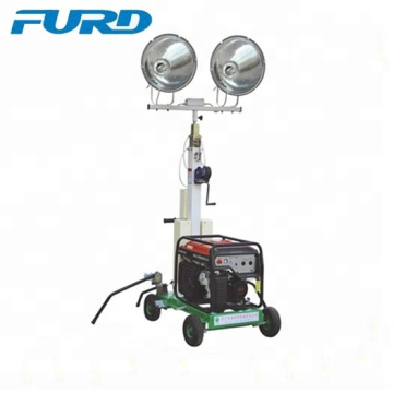 Petrol generator light car mobile project light tower with metal halide lamp