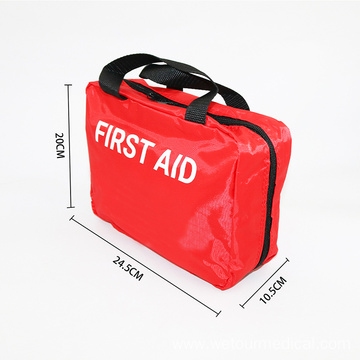 Outside Travel Ziplock Emergency Medical First Aid Kit