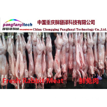Fresh Healthy Tasty Self-produced Rabbit Meat