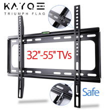 """TV Wall Mount Bracket 32""""-55"""" Tilt Bracket for TV Rack Wall Mount up to VESA 400x400mm and 110lbs LCD LED Monitor Flat Panel"""