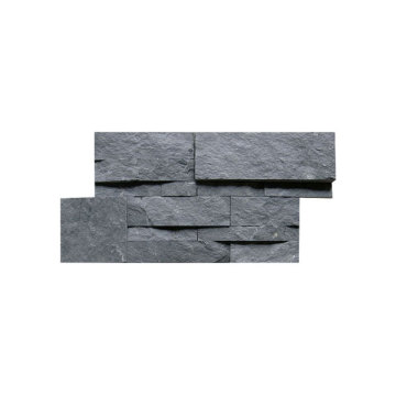 18×35cm black slate outside wall stone cladding