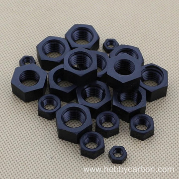 Customized Stainless Steel Nylon Insert Lock Hex Nut