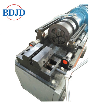 Mechanical Rebar Rib Stripped Thread Rolling Machine