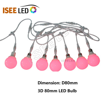 DMX 80mm Led Bulb Light for Nightclub