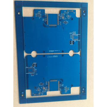 2 layer blue solder voltage sensor board