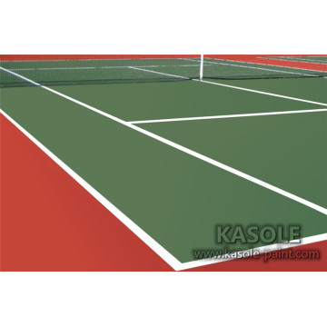 Outdoor Acrylic Sports Flooring