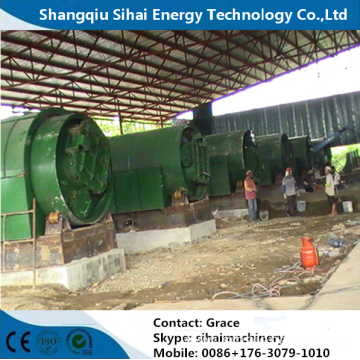 Waste Tire Oil Regeneration Plant