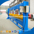 Metal sheet steel window grill design cutting bending machine