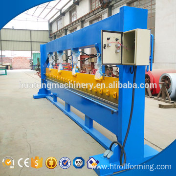 New style metal sheet 4m hydraulic cnc letter bending machine