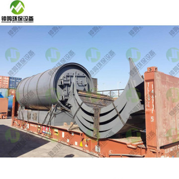 2020 Advanced Pyrolysis Process of Waste Scap Tyres to Oil