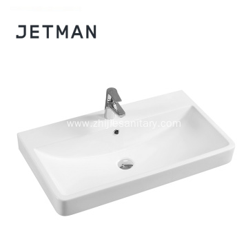 Modern design ceramic bathroom vanity sinks