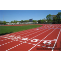 PU track material used in track and field
