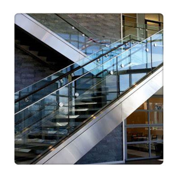 Colored Tempered Laminated Glass Panels For Railing