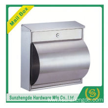 SMB-011SS Hand Made Classical Design Modern Free Standing Mailboxes Residential Mailbox